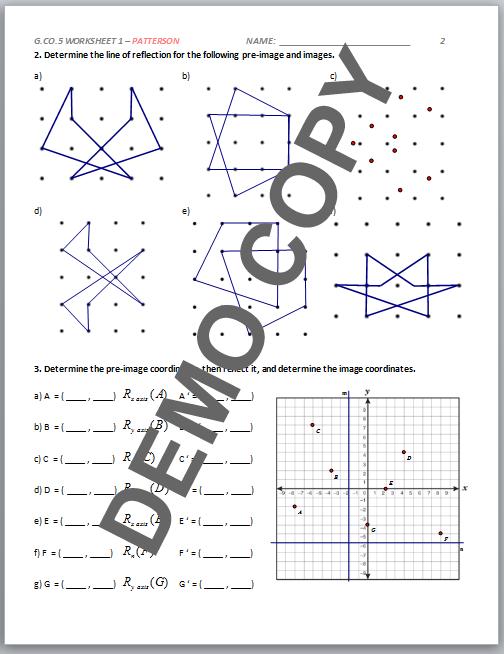 all worksheets composite transformation geometry worksheets printable worksheets guide for. Black Bedroom Furniture Sets. Home Design Ideas